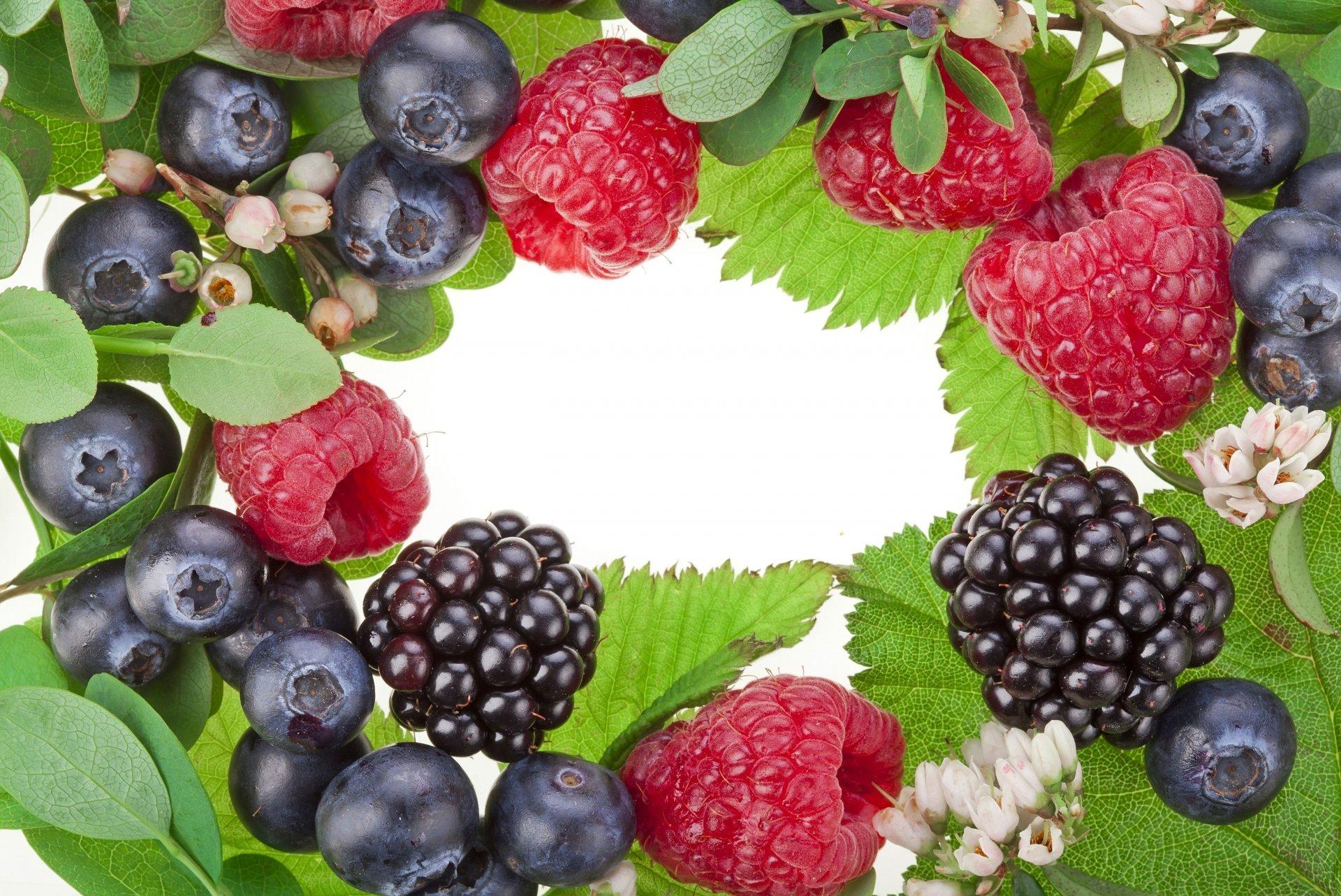 Обои черника, тарелка, малина, фрукты, дыня, ежевика. Еда foto 15