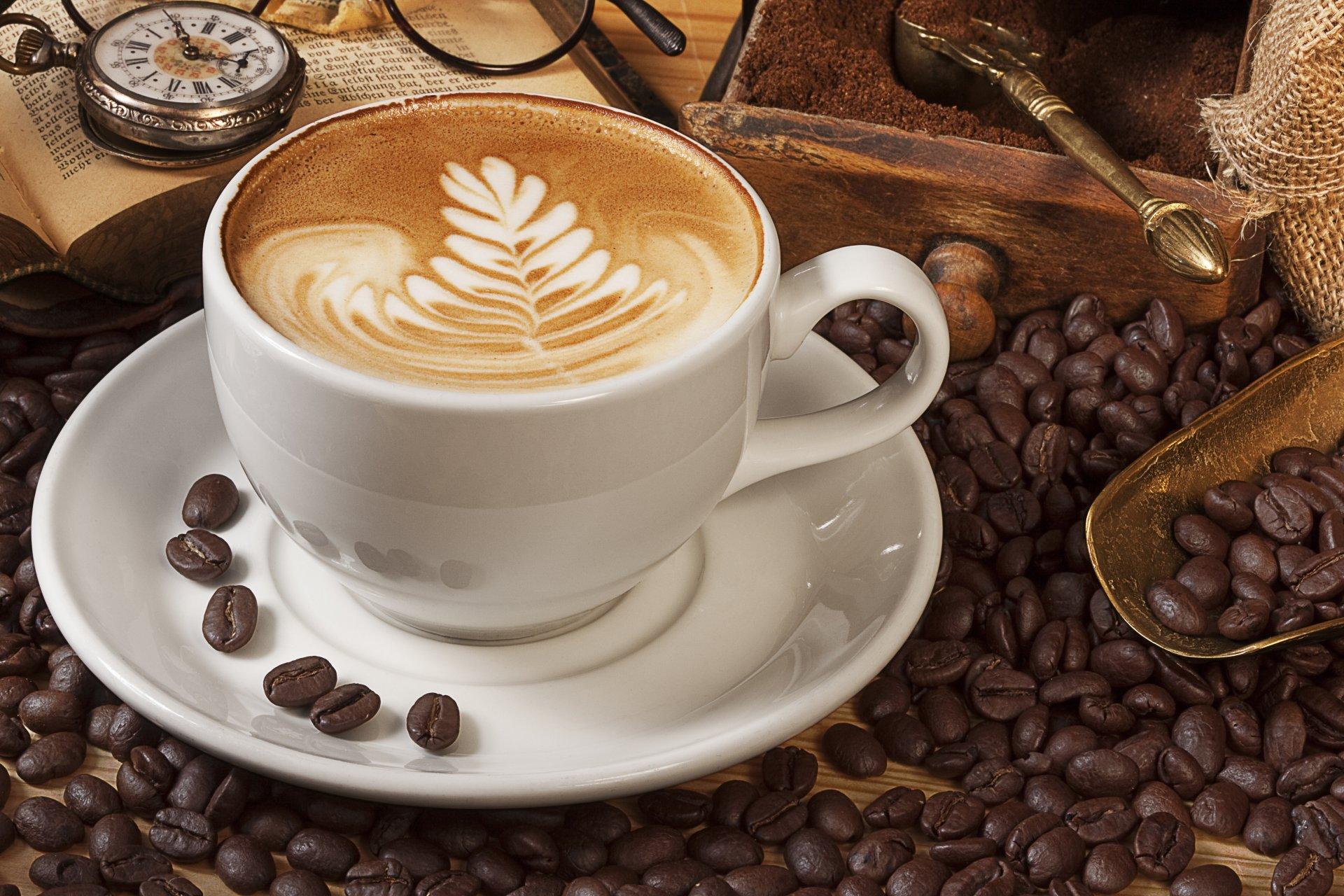 Чашки кофе в картинках