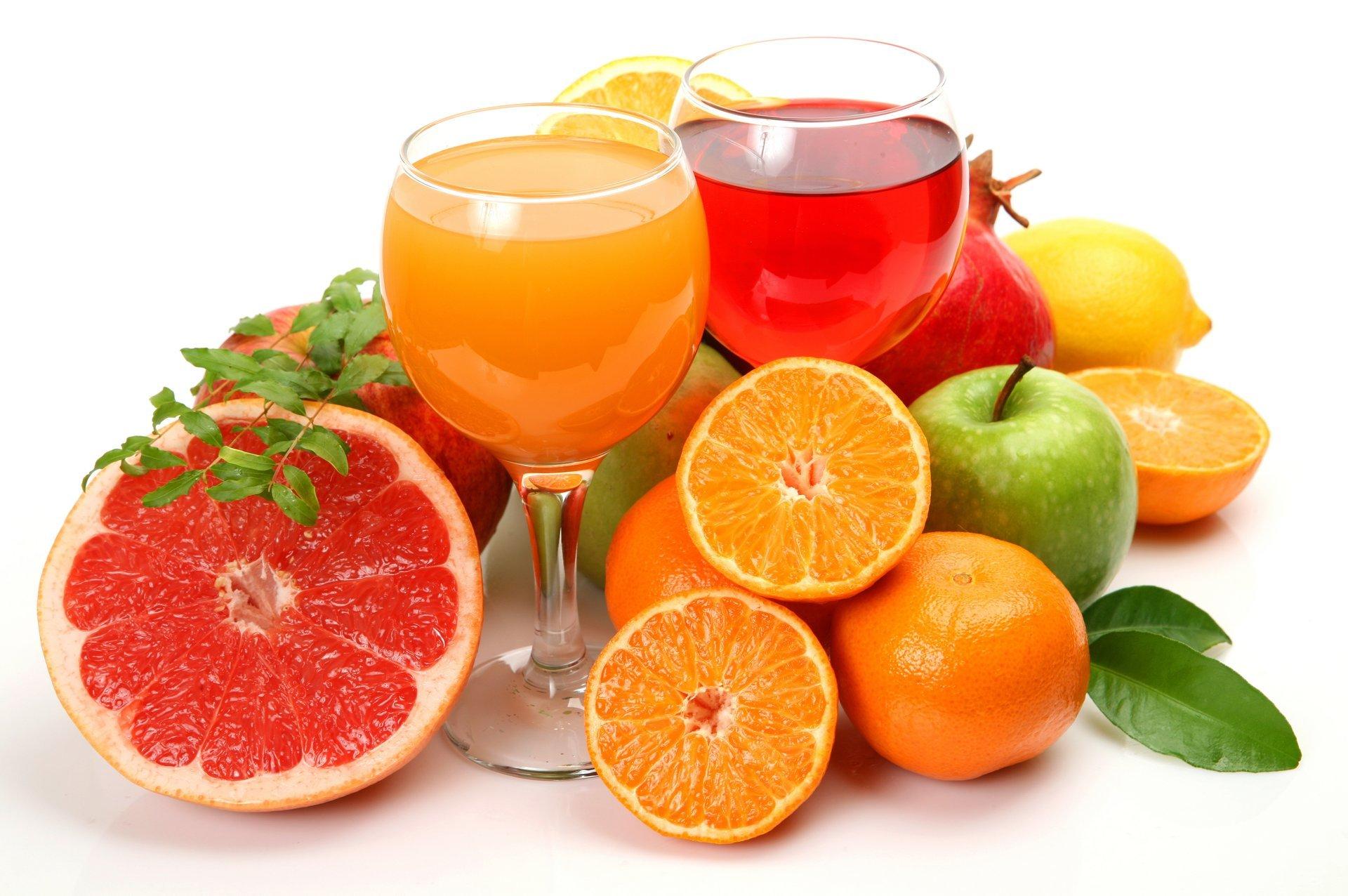 Обои апельсин, цитрусы, виноград, напиток, сок. Еда foto 12
