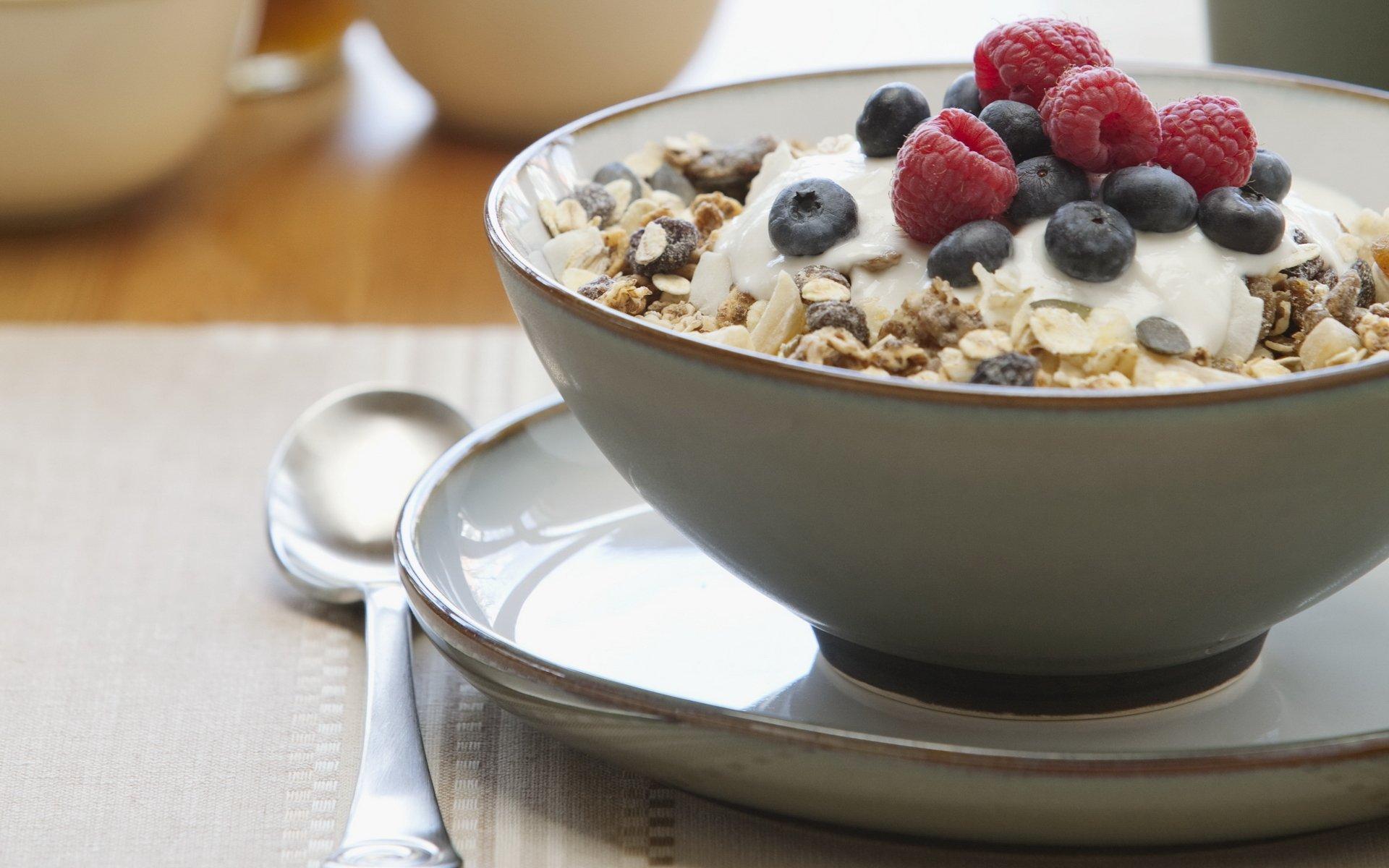 Обои мюсли, завтрак, Гранат. Еда foto 11