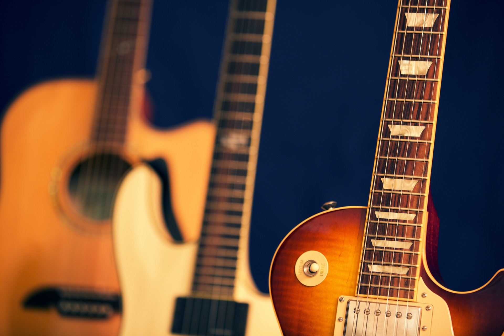 красивые обои на гитаре