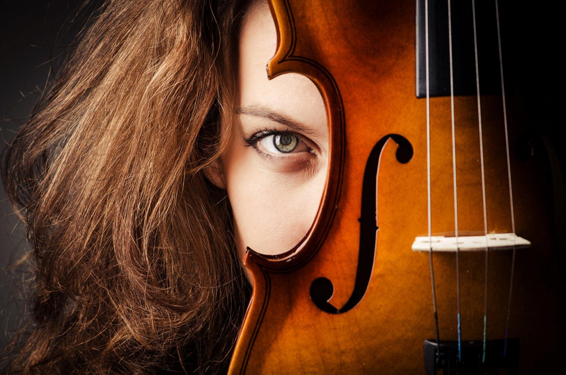 Фото девушка со скрипкой