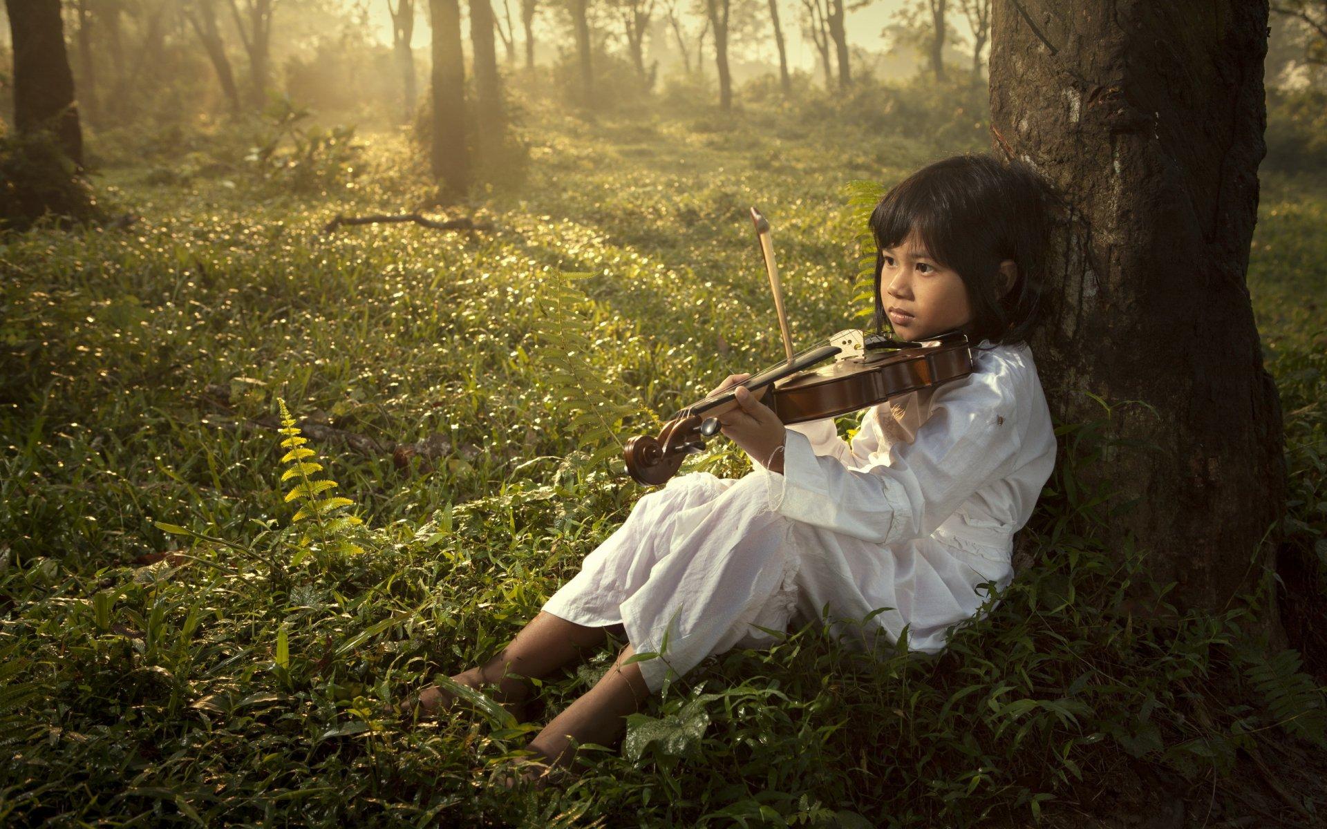 Картинка музыка леса