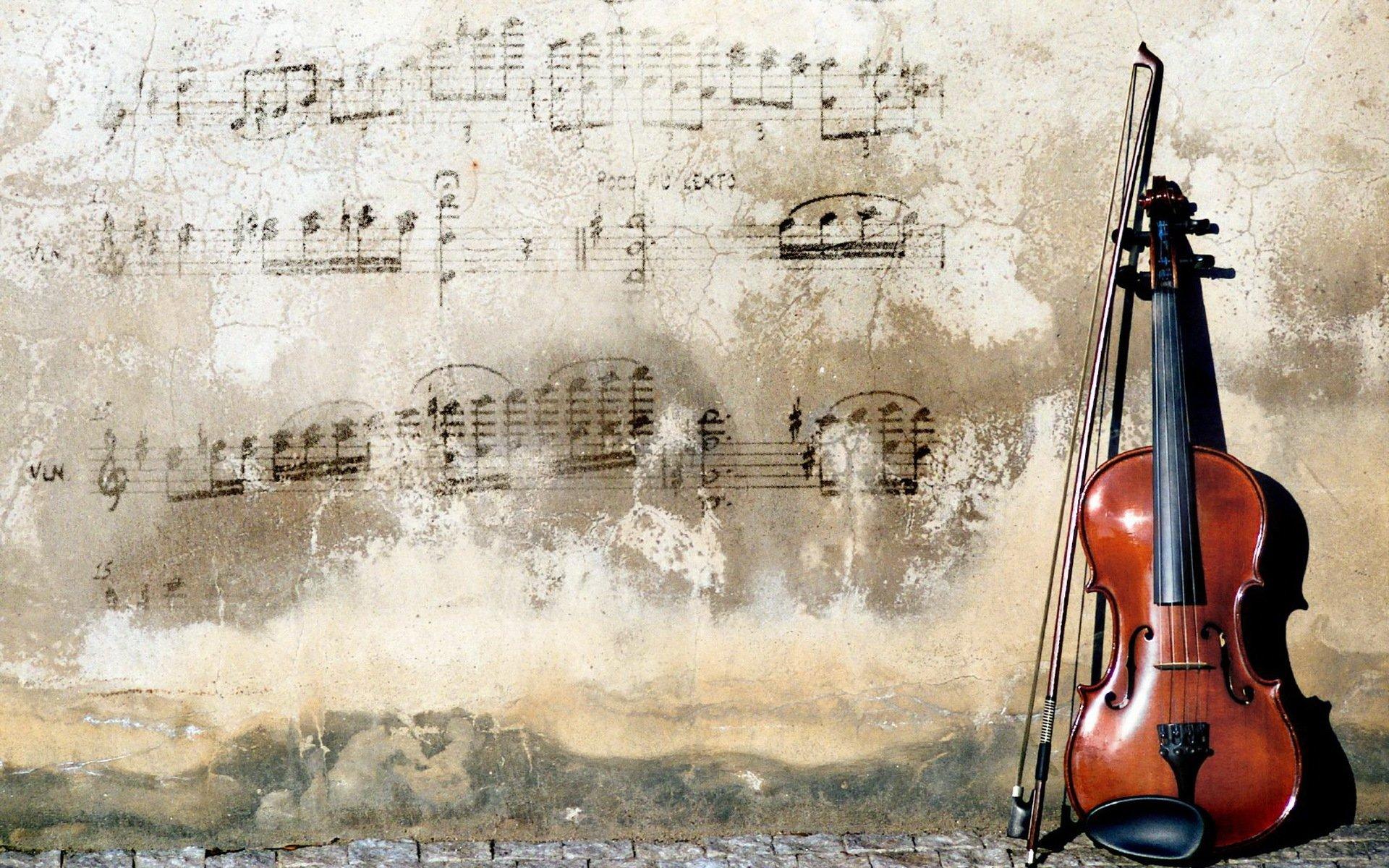 Обои музыка, скрипка. Музыка foto 9