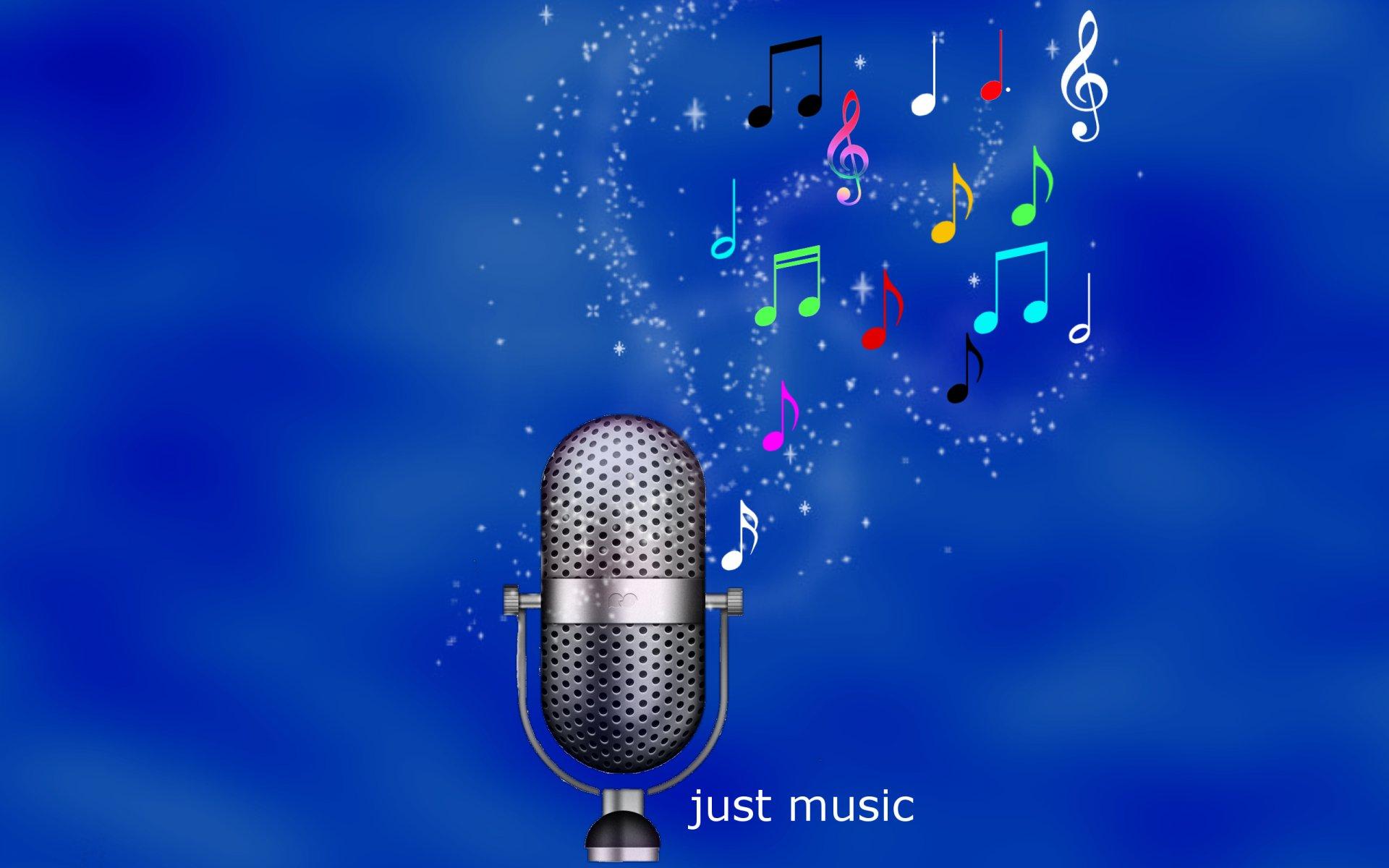 Обои микрофон, стиль, музыка. Музыка foto 13