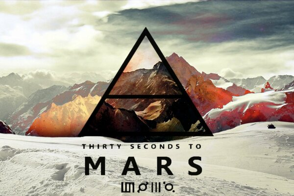 30stm 30 Thirty Seconds To Mars Jared Leto Эшелон Лого Джаред Лето