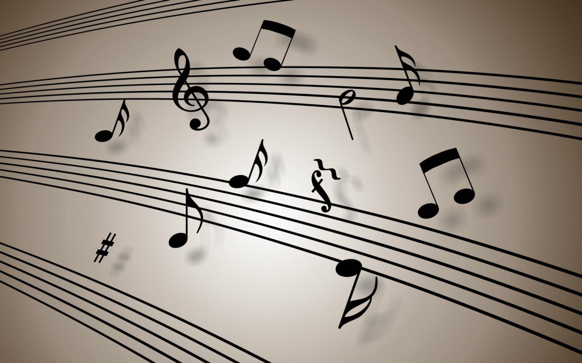 ноты картинки или фото музыкальные