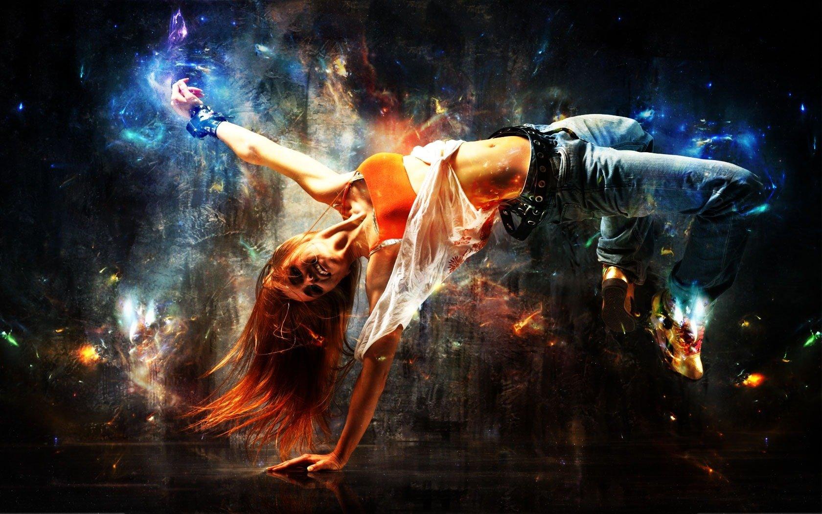 Обои на телефон танец