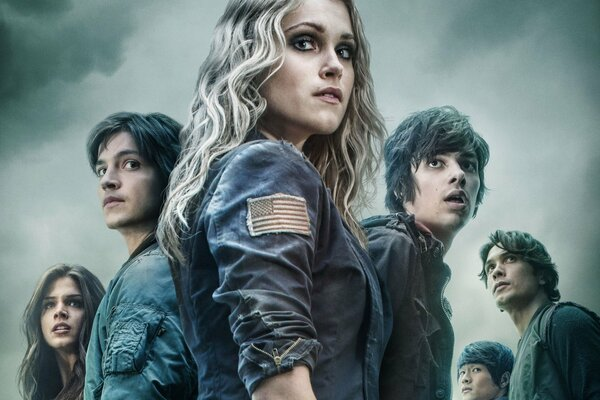 The 100 Сотня TV series 2014 The CW CW Channel Eliza Taylor-Cotter Eliza Taylor Cot survivor man woman girl CW TV show The Hundred man boy woman bald girl blonde asian asiatic oriental american pretty