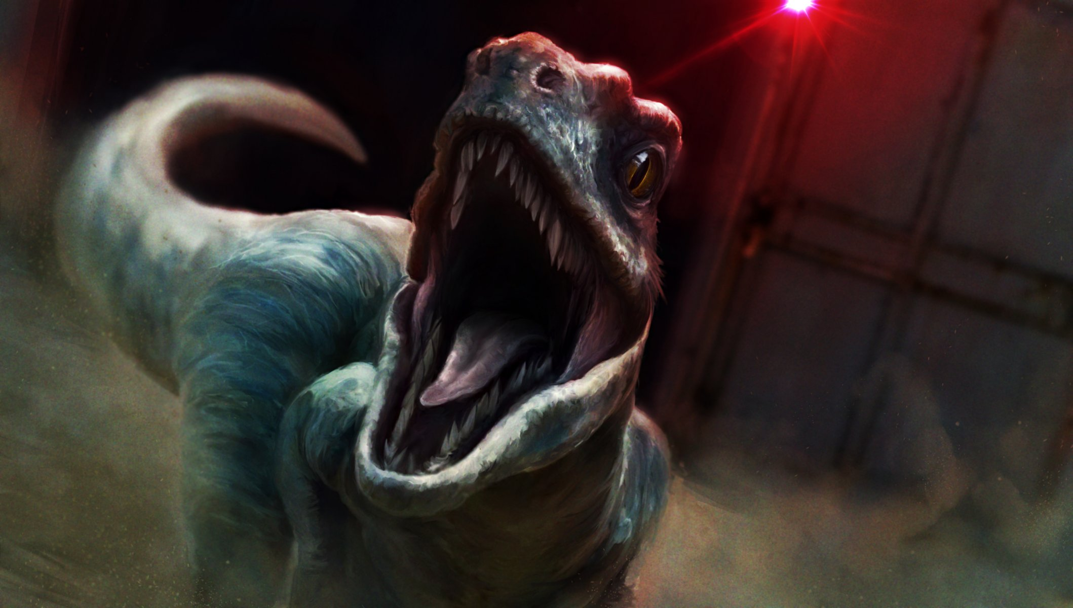 Картинки на рабочий стол динозавр раптор