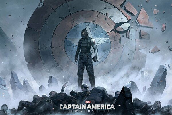 winter soldier bucky barnes первый мститель: Другая война Captain America: The Winter Soldier