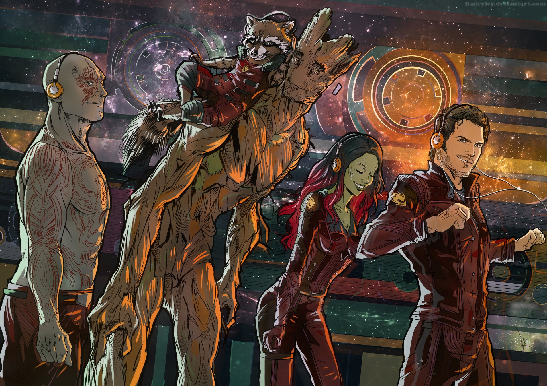 Стражи Галактики Картинки На Рабочий Стол