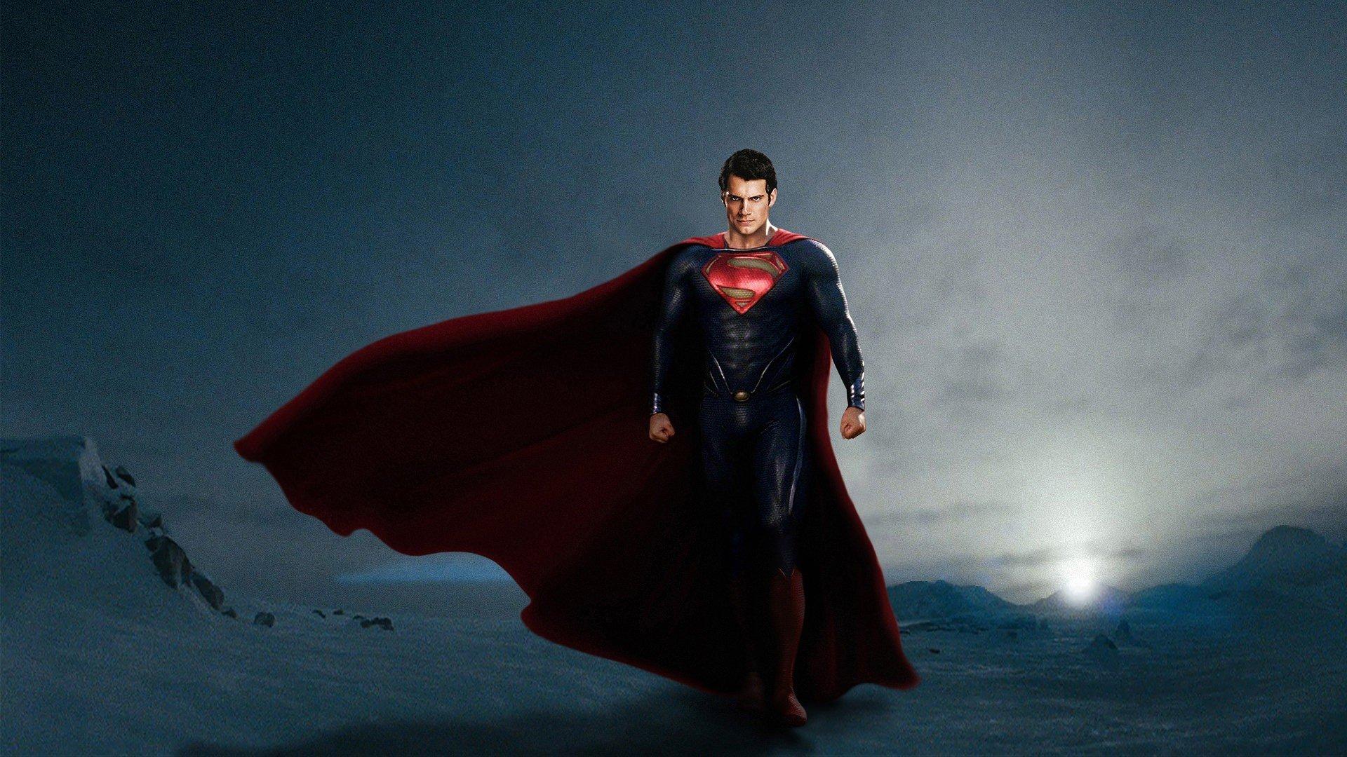Картинки обои супермена