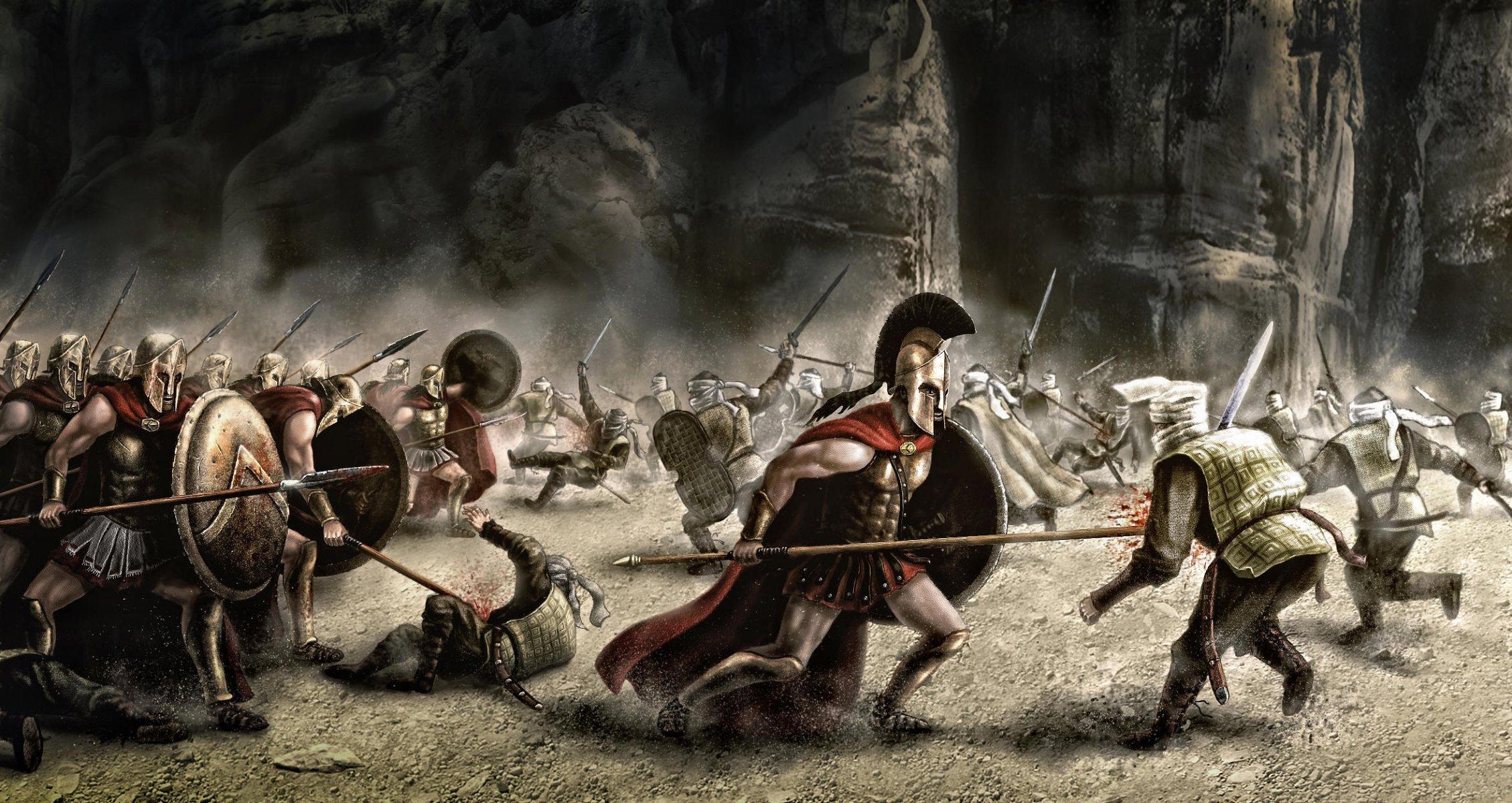 скачать торрент 300 спартанцев - фото 9