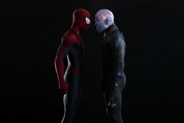 Новый Человек-паук 2 The Amazing Spider-Man 2 Эндрю Гарфилд Andrew Garfield Peter Parker Spider-Man Джейми Фокс Jamie Foxx Max Dillon Electro