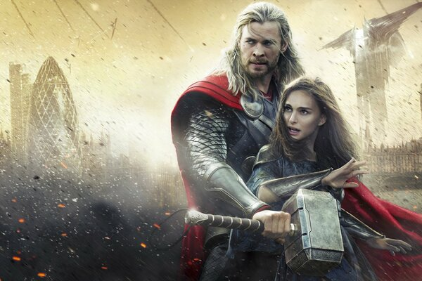 Thor The Dark World Thor 2 Thor The Dark World The Dark World Marvel Entertainment Studios Walt Disney Pictures Walt Disney Pictures Chris Hemsworth Natalie Portman Jane Foster Action Adventure Fantas