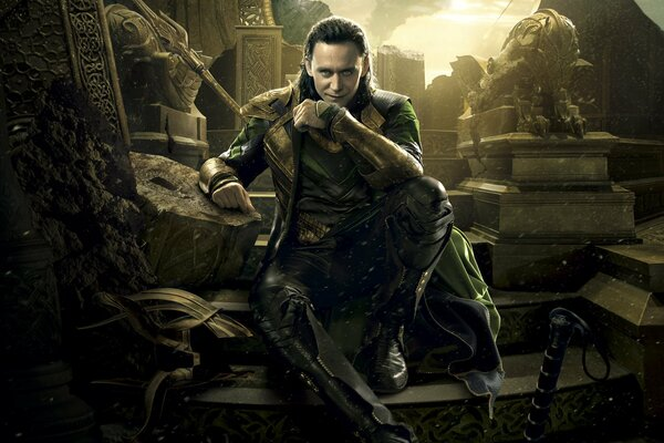 Thor The Dark World Thor 2 Thor The Dark World The Dark World Tom Hiddleston Loki Marvel Studios Entertainment Walt Disney Pictures Walt Disney Pictures Action Adventure Sci-Fi Fantasy God Ganger Dang