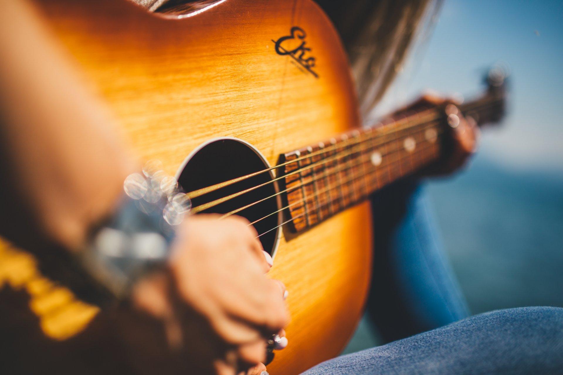 Картинки пожеланием, картинки красивые с гитарой