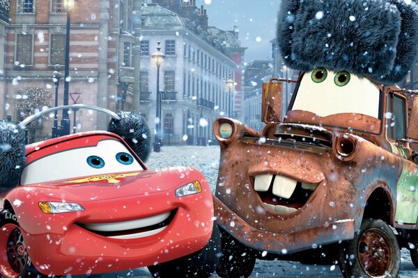 Cars 2 Tokio drift Walt Disney Pixar animated film racing sport Owen Wilson Lightning McQueen Mater World Grand Prix From Russia with love Russia Moscow Тачки 2 Токийский дрифт Уолт Дисней мультфильм