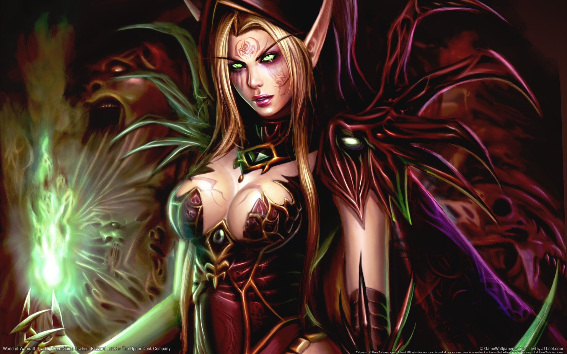 Warcraft elf hentai hd cartoon image