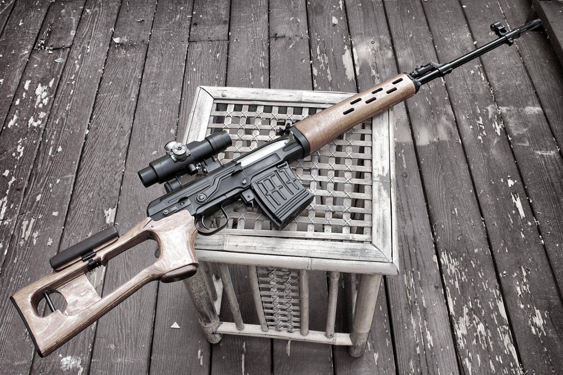 Снайперской винтовки и как ее сделать 424