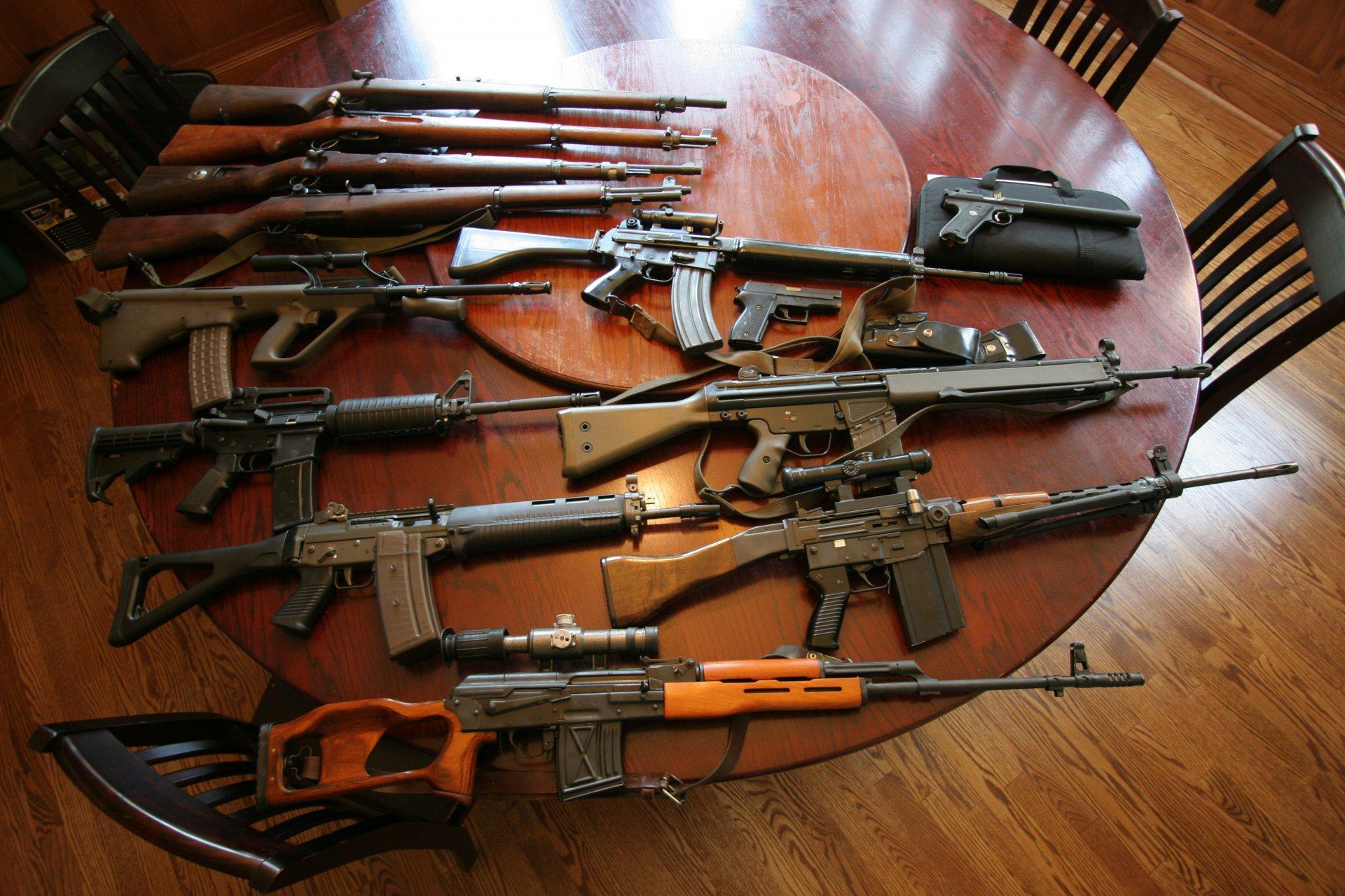 Оружие настоящие картинки