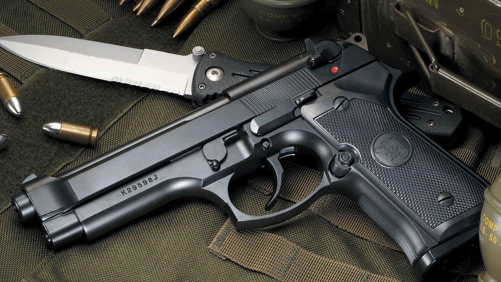 Пистолет нож в хорошем качестве