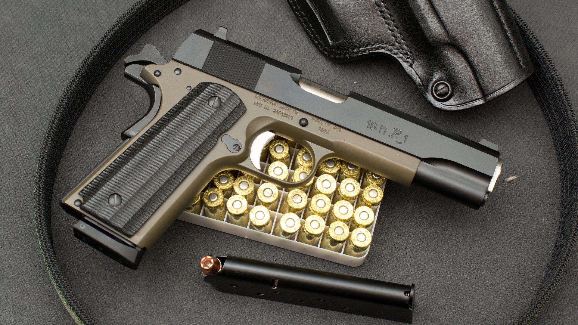 пистолет с обоймой анонимно