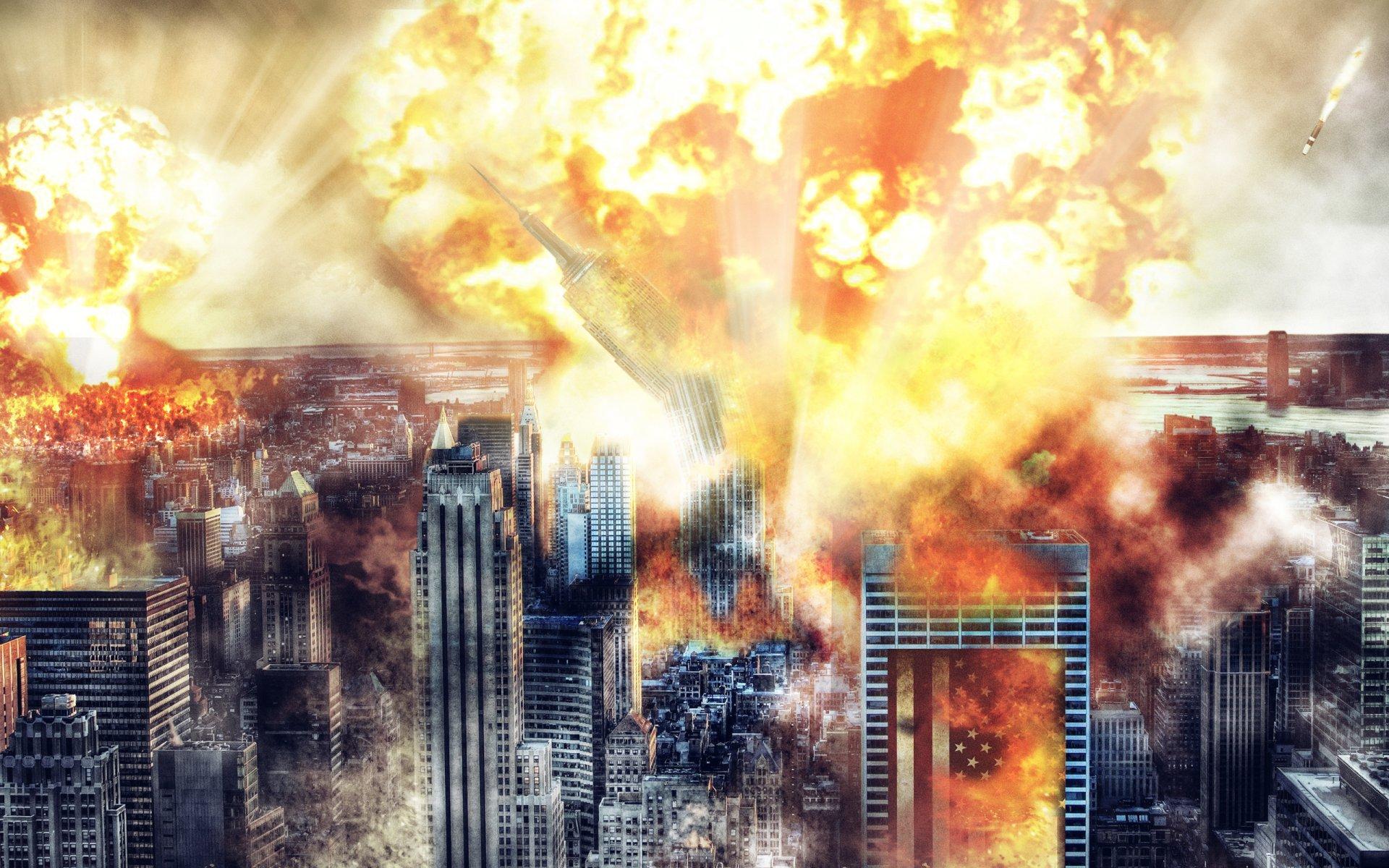 Обои На Рабочий Стол Взрывы