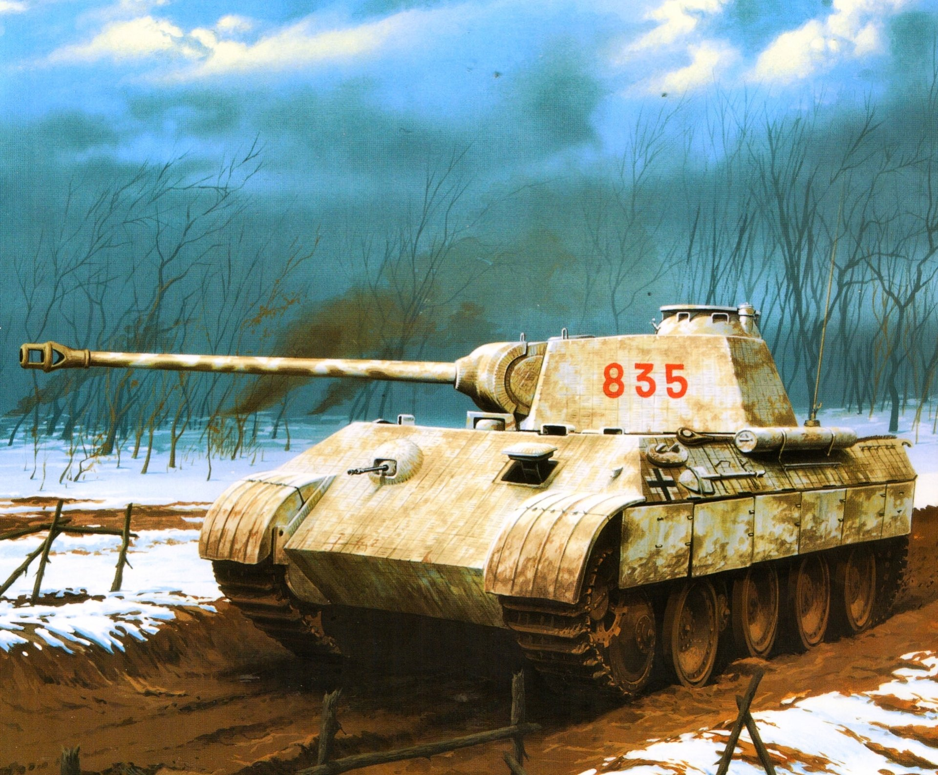 этот танк фото рисунок приводит ухудшению кровообращения