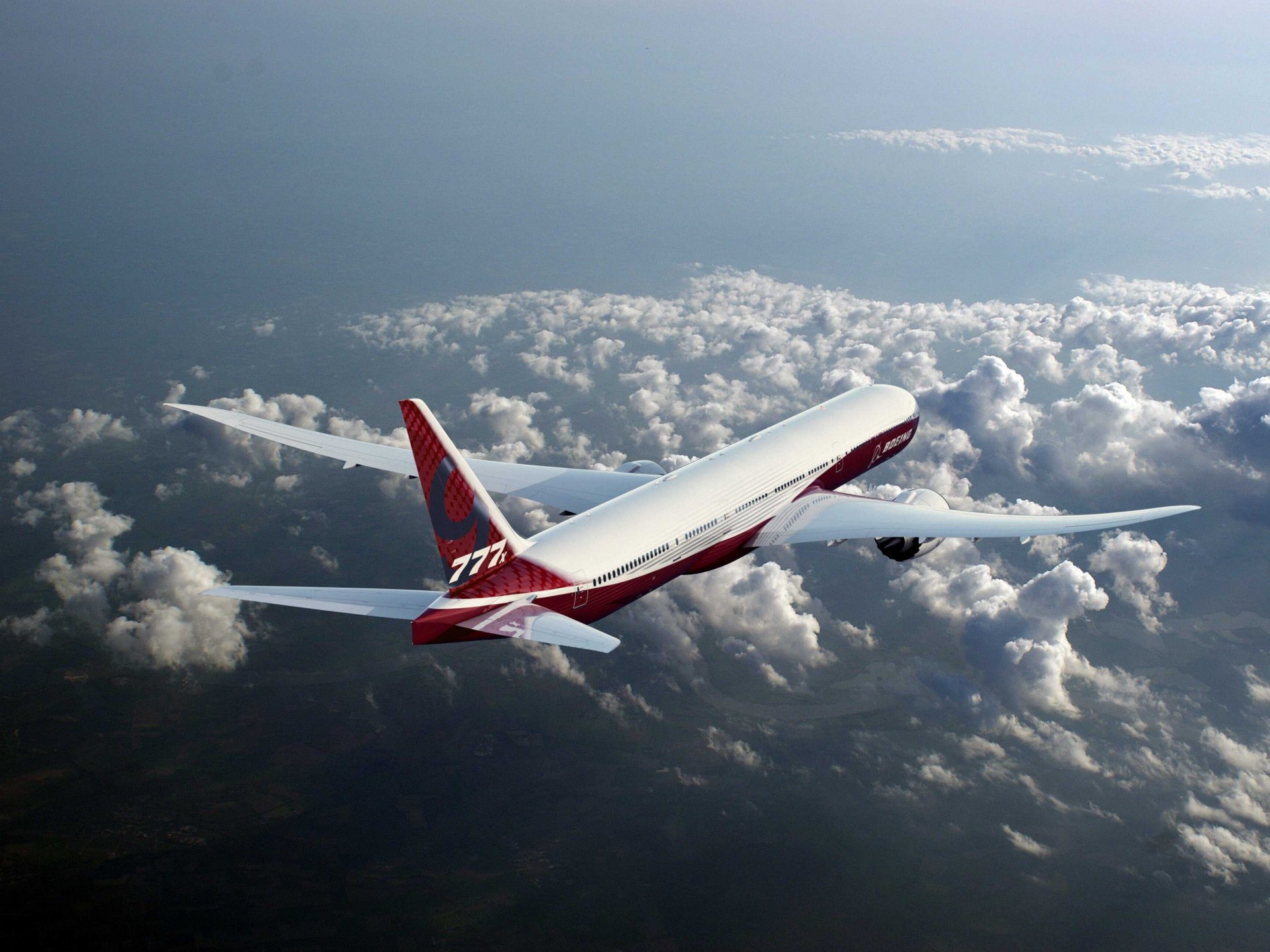 a description of the boeing 777 in commercial and military aircraft