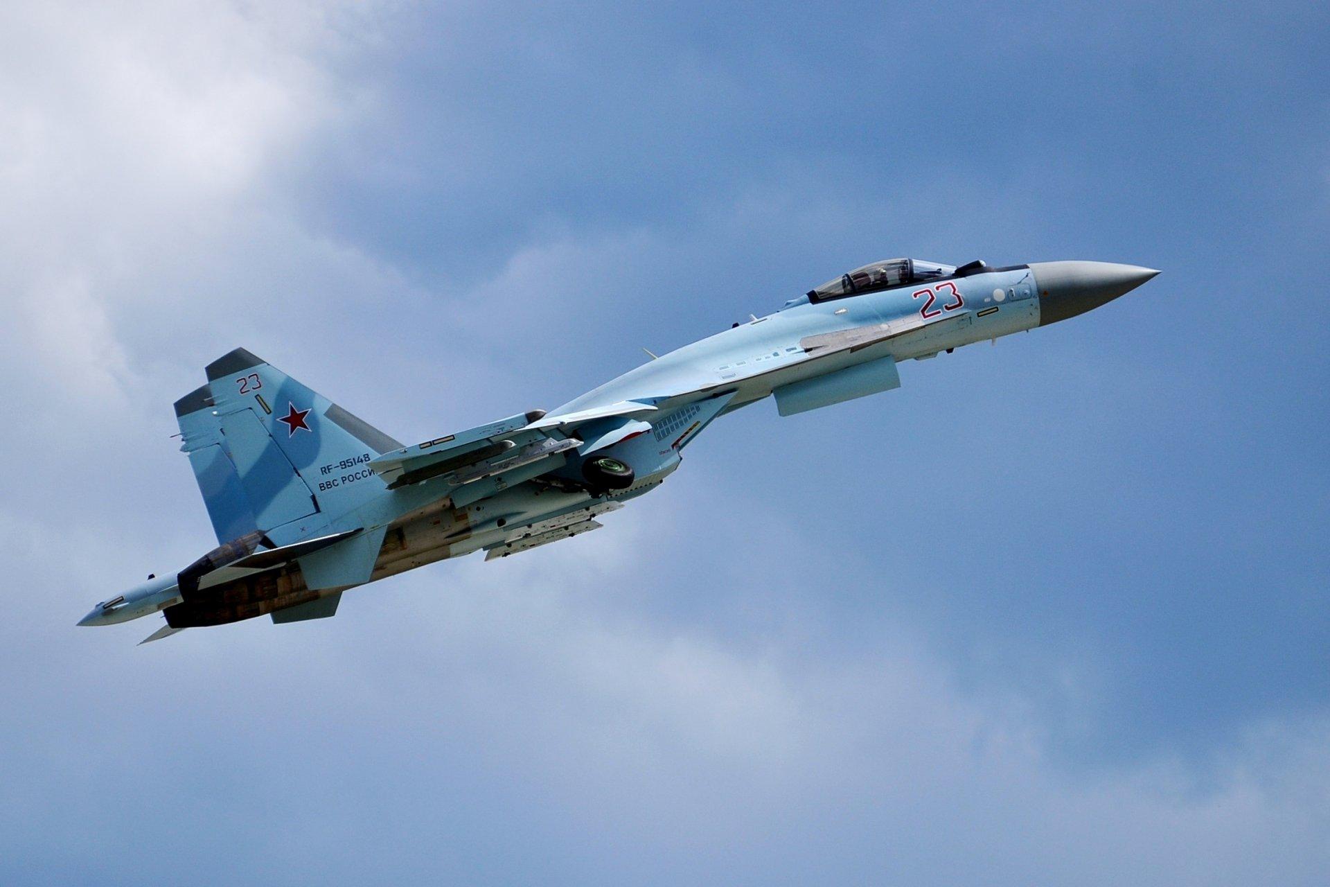Обои сверхманевренный, Самолёт, многоцелевой, Su-35. Авиация foto 8