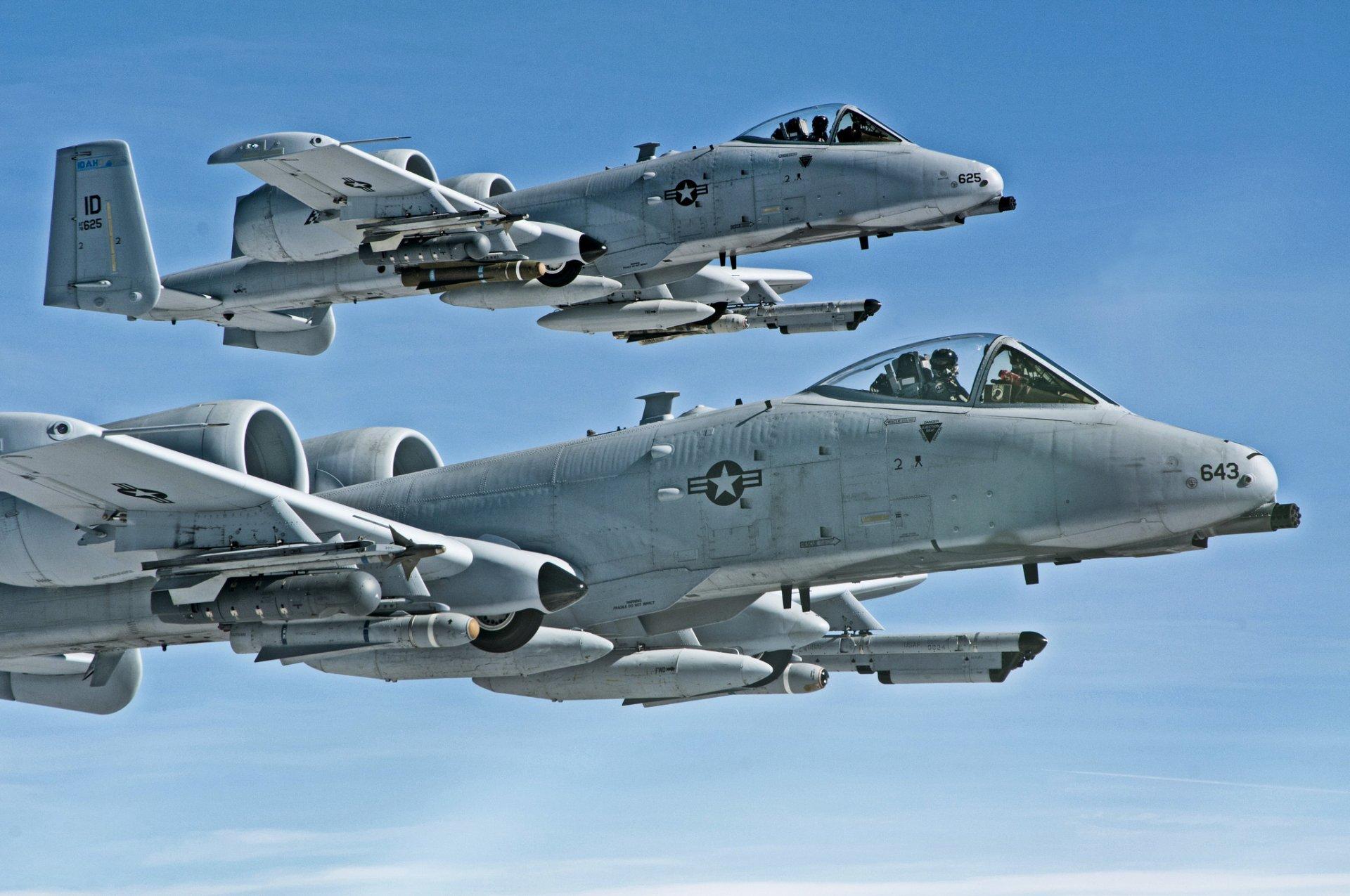 Обои «тандерболт» ii, штурмовик, thunderbolt ii, A-10, Схема. Авиация foto 11