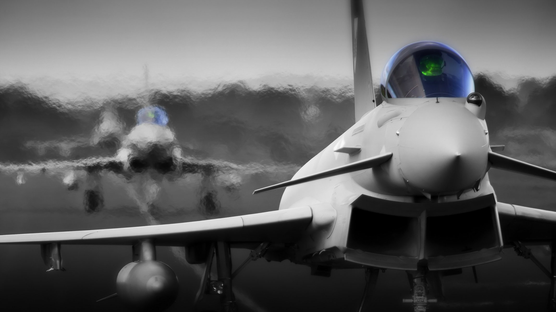 Обои самолеты, Eurofighter typhoon. Авиация foto 12
