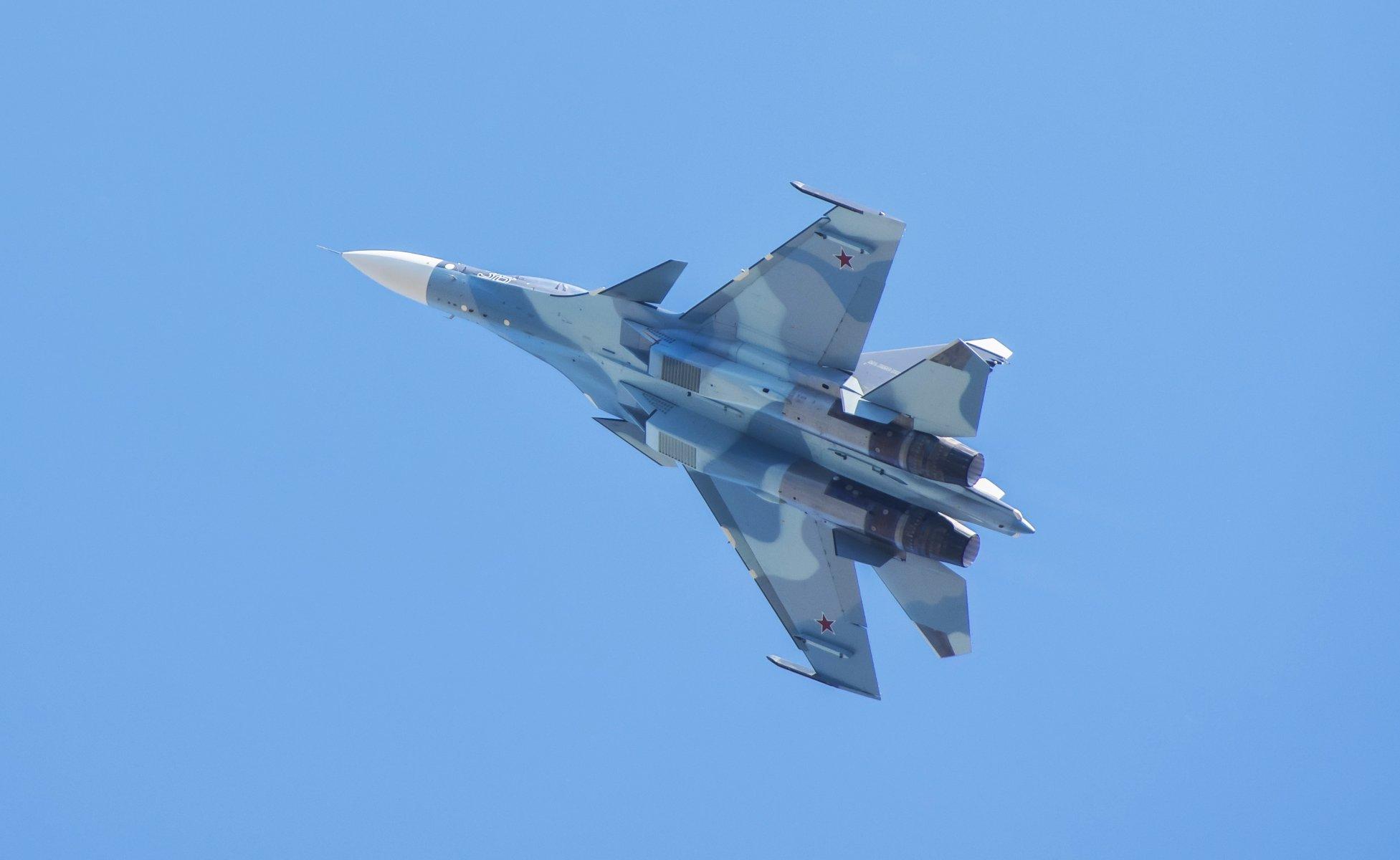 Обои российский, многоцелевой, двухместный, Су-30см. Авиация foto 19