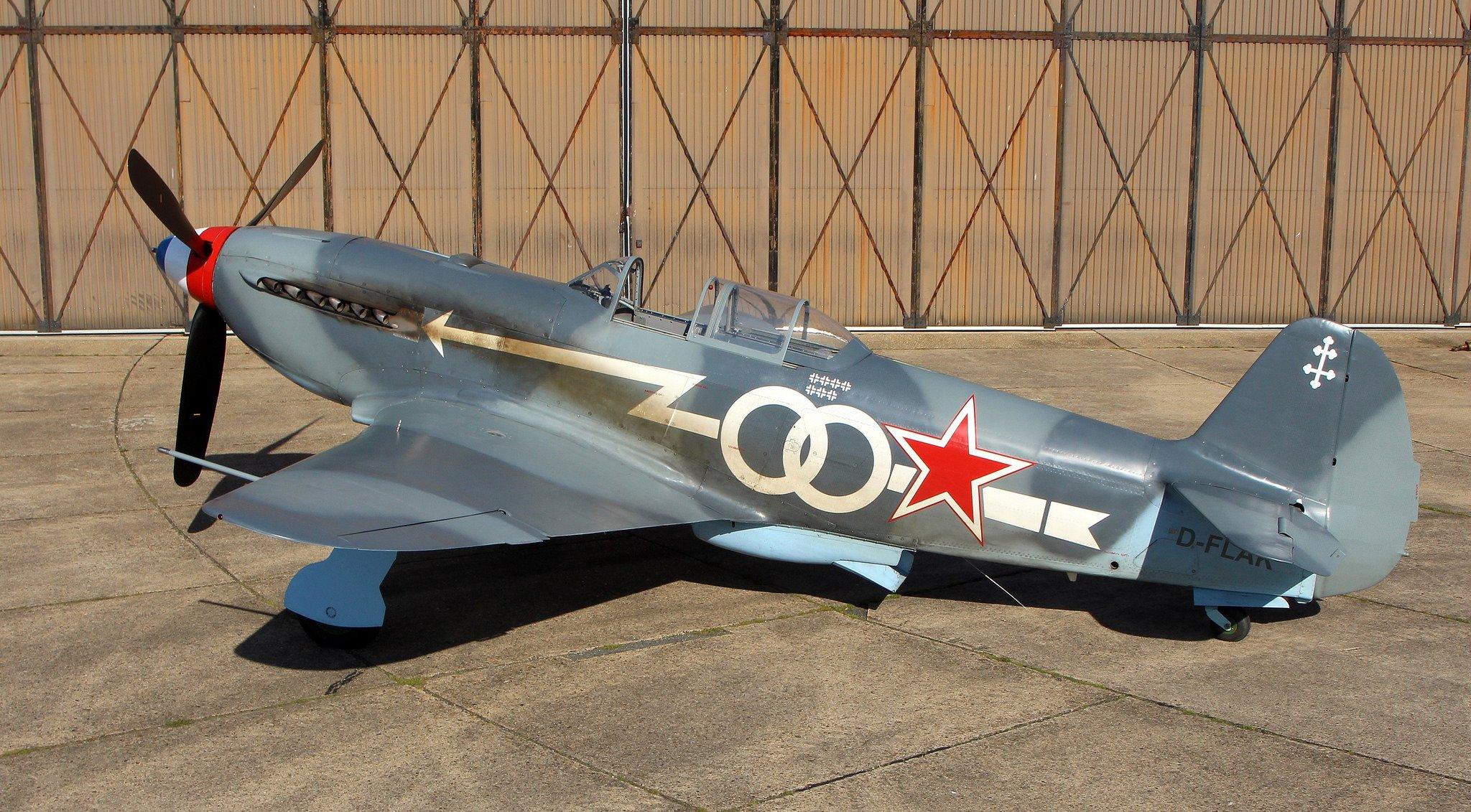 Обои одномоторный, советский, истребитель, yak-3. Авиация foto 9
