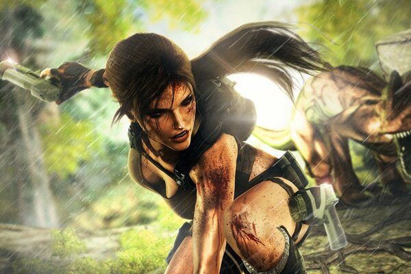 tomb raider: underworld crystal dynamics eidos interactive лара крофт