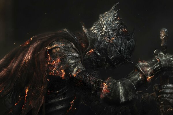 Dark Souls 3 Dark Souls III Namco Bandai Games From Software Броня Меч Доспехи