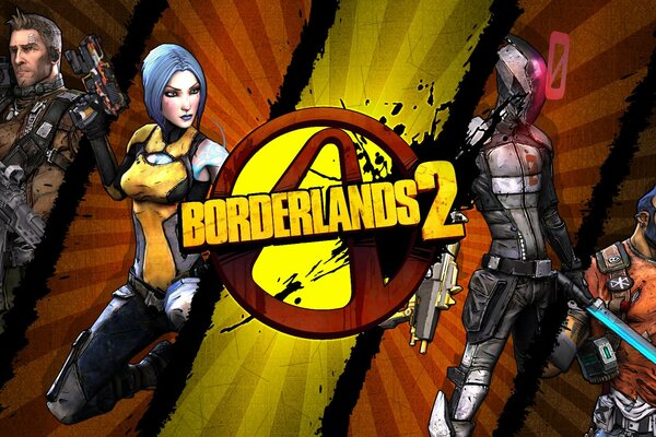 borderlands 2 fps rpg unreal engine 3 gearbox software 2k games логотип акстон майя zer0 ноль сальвадор