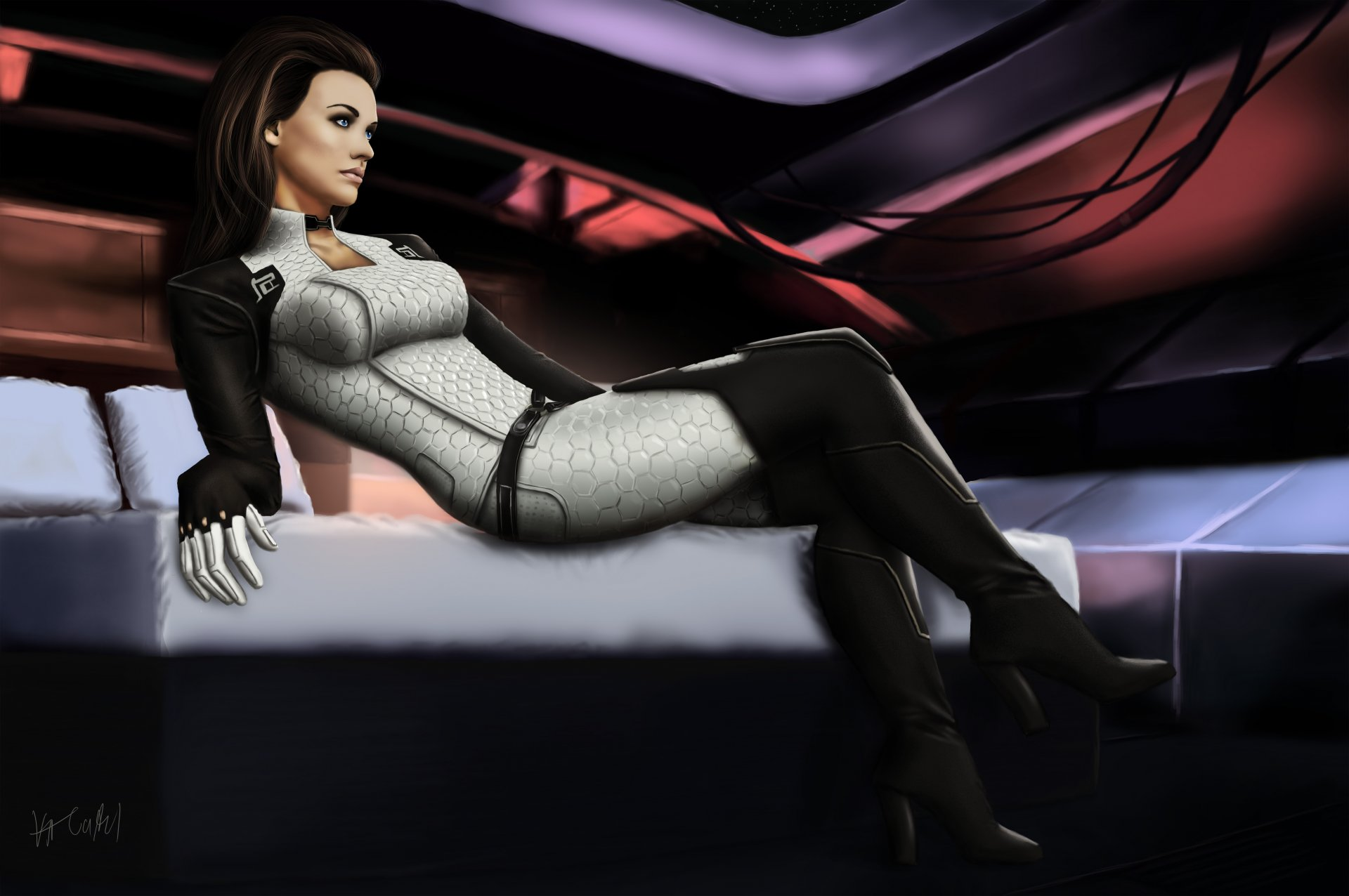 Mass effect miranda nackt sexual scene