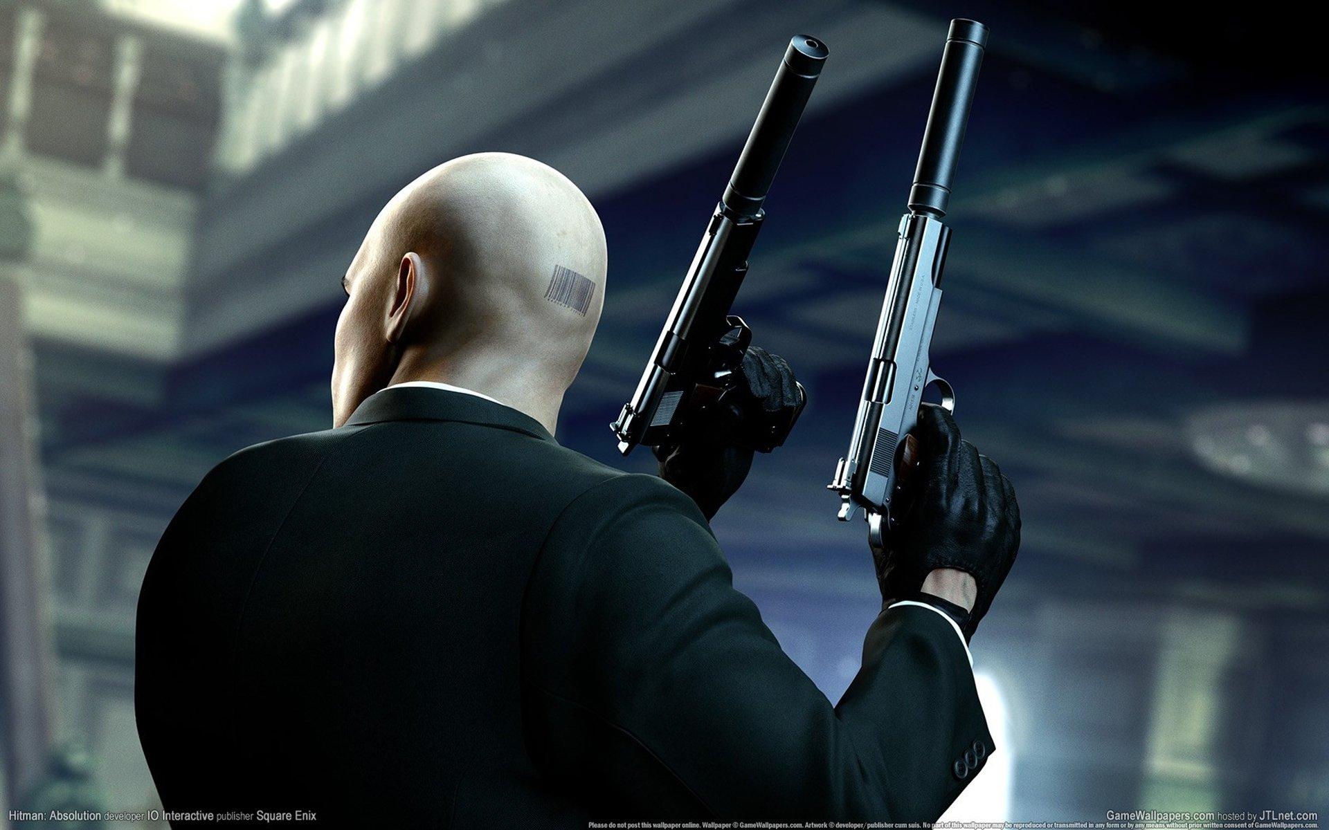 Обои костюм, мужчина, пистолет, глушитель. Разное foto 18
