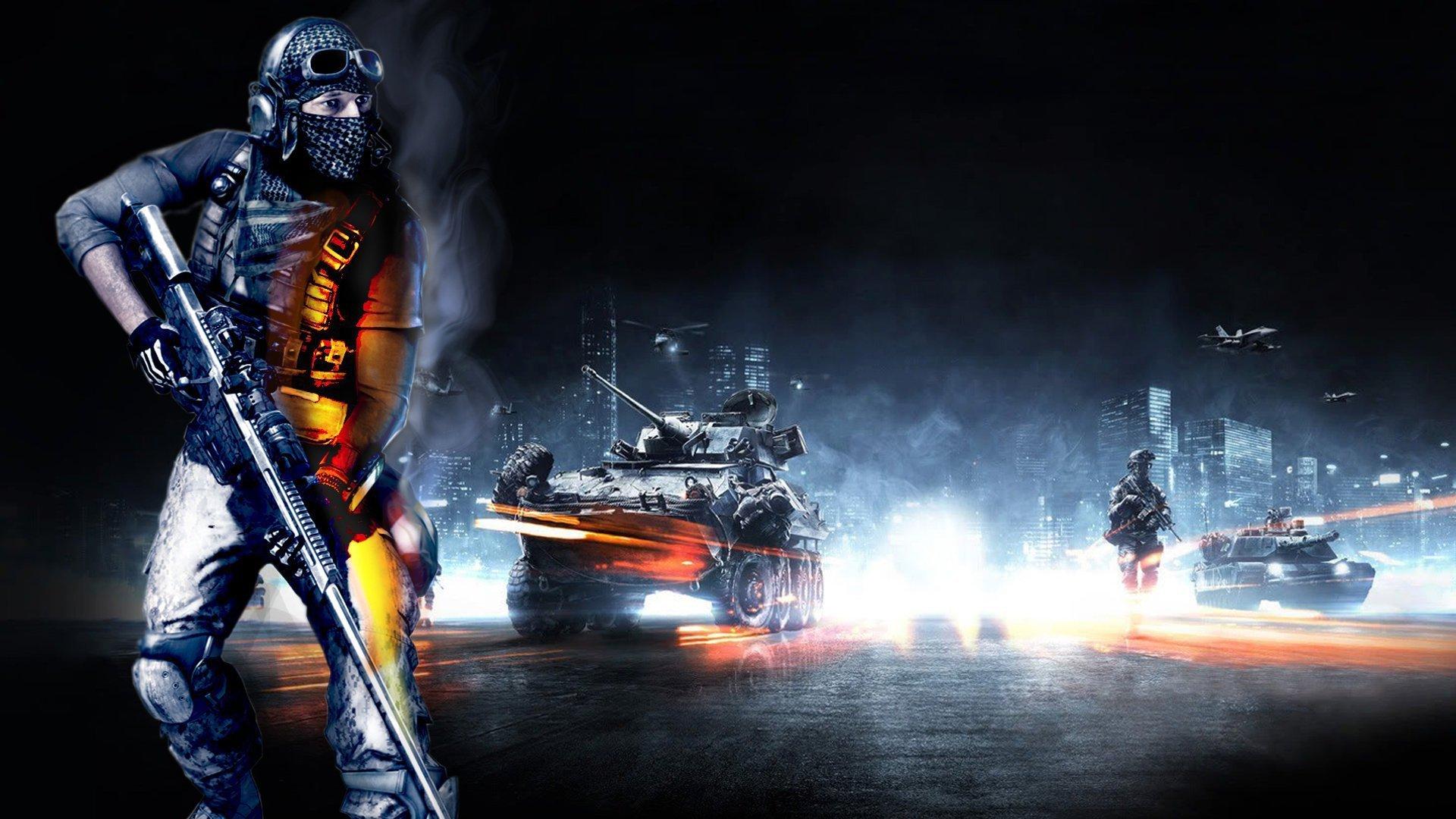 Battlefield 3 солдат линии оружие  № 3460657 бесплатно