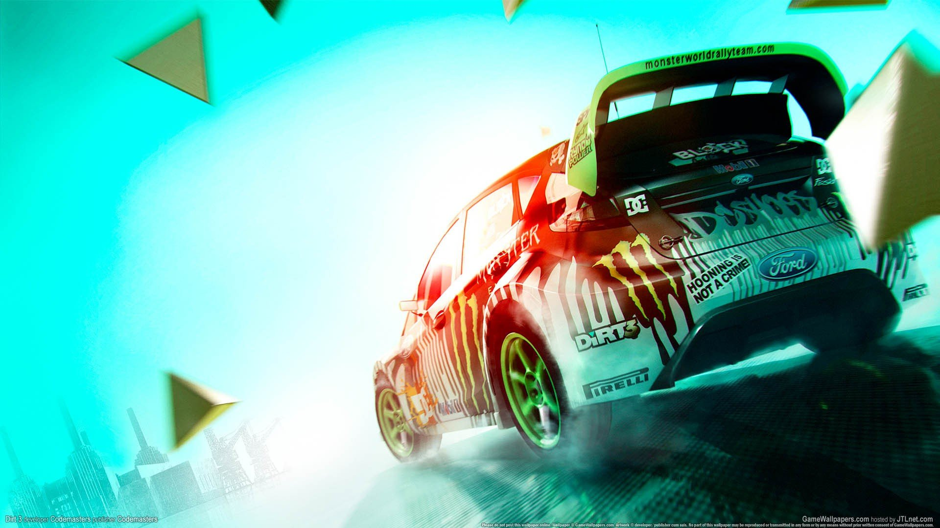 colin mcrae dirt 3 форд fiesta monster energy