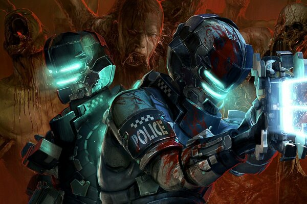 dead space 2 мертвый космос мутанты твари dead space