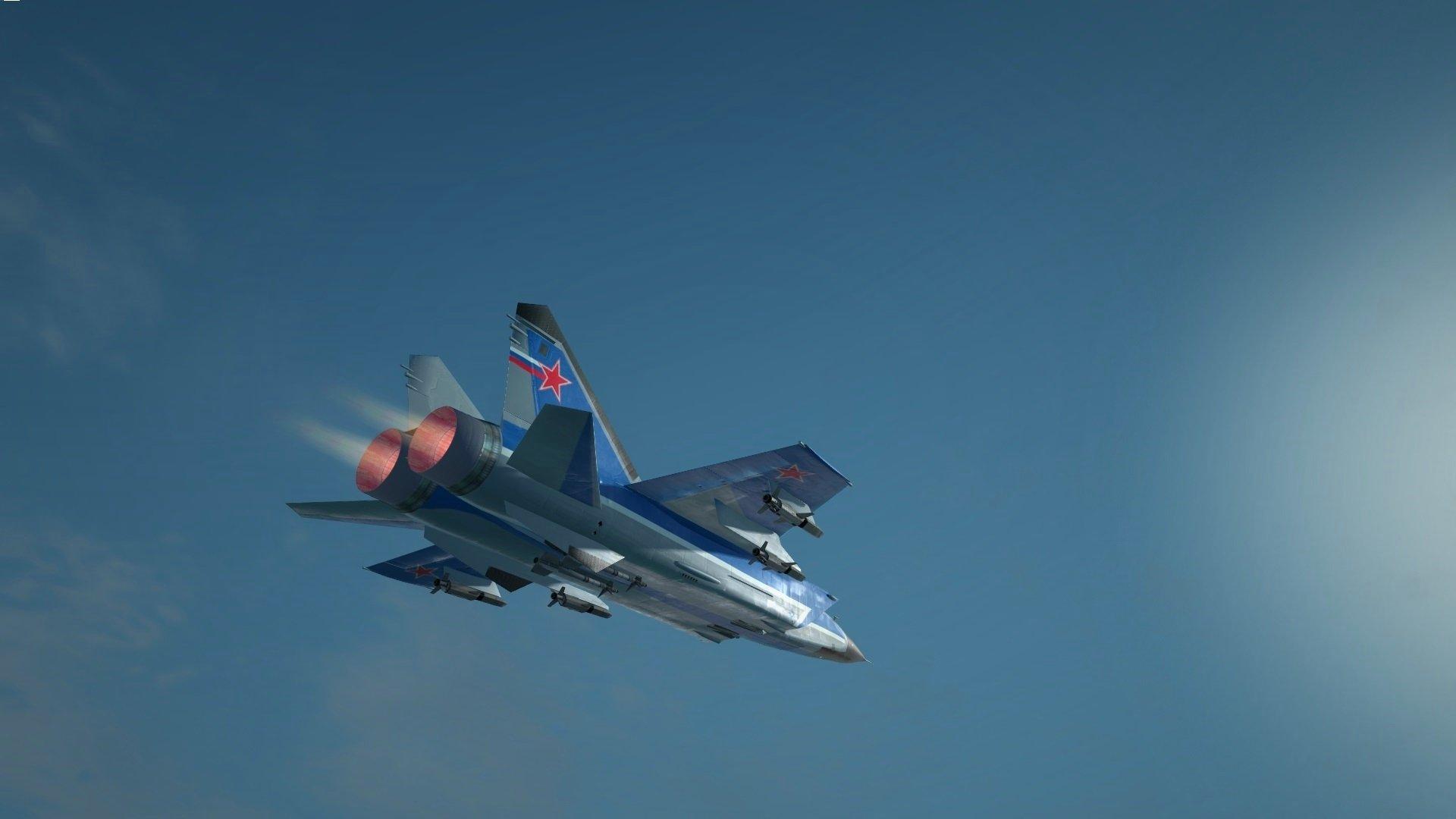 Обои ввс, миг-31, перехватчик, россии, истребитель, Самолёт. Авиация foto 13