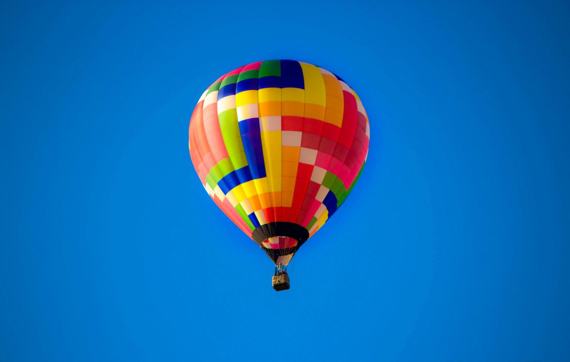 Обои воздушный шар, корзина. Авиация foto 12