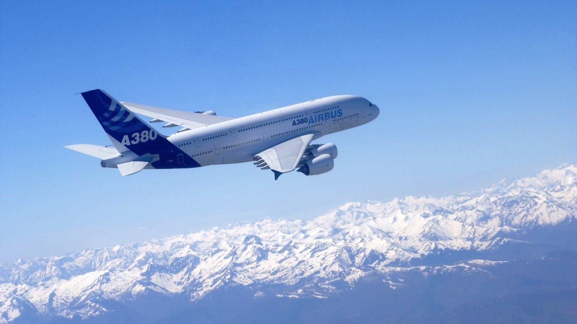 Взлет A380 Airbus без смс