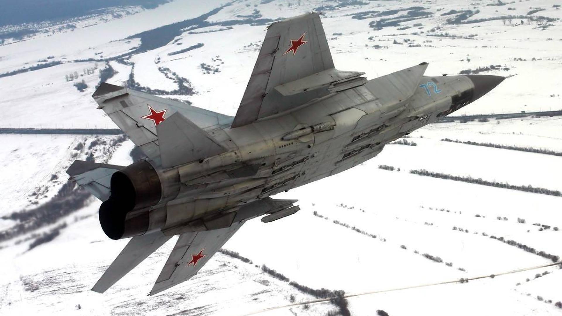Обои миг-31, ввс, Микоян и гуревич, перехватчик, истребитель. Авиация foto 14