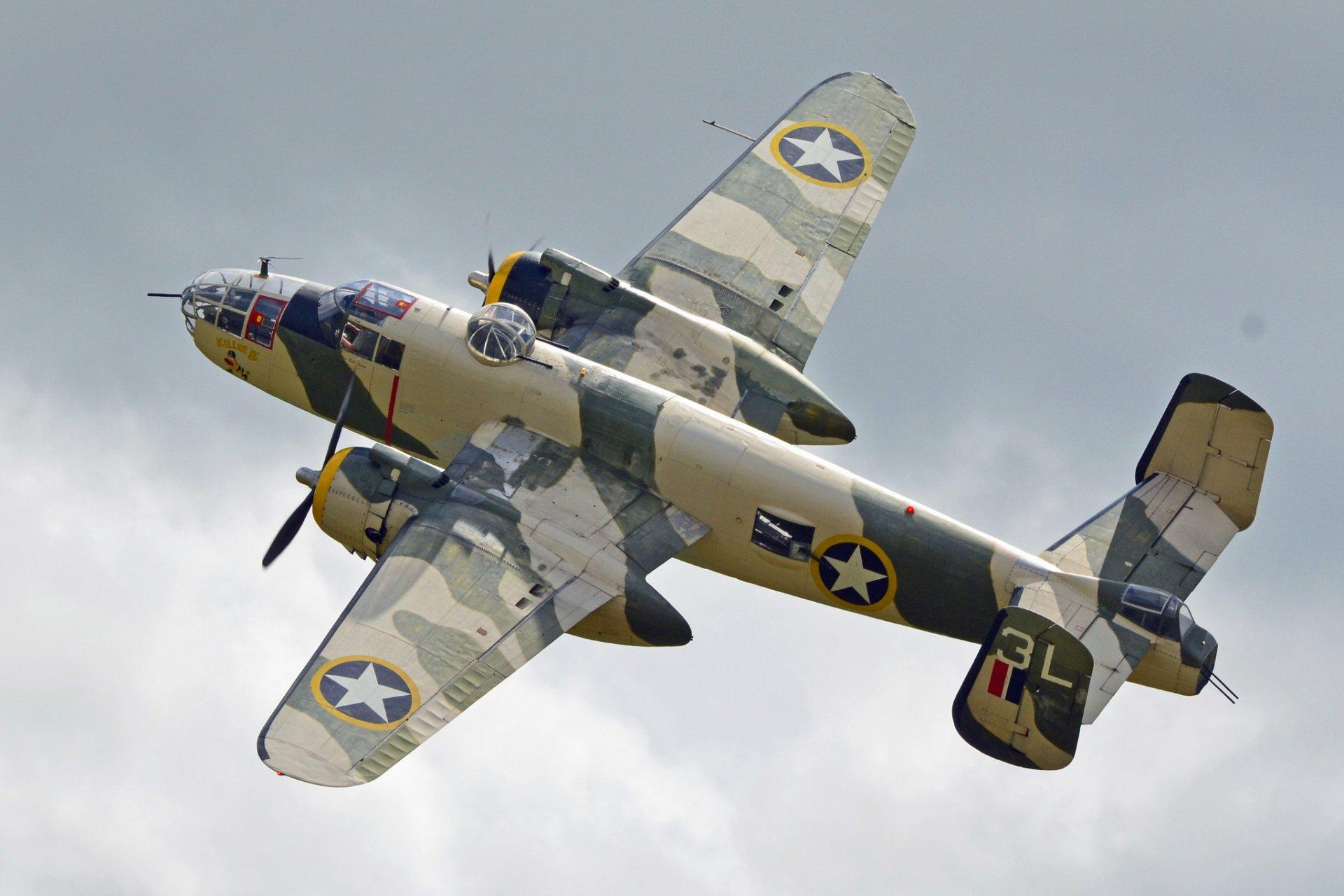 Обои North american, b-25, двухмоторный, американский, средний. Авиация foto 14