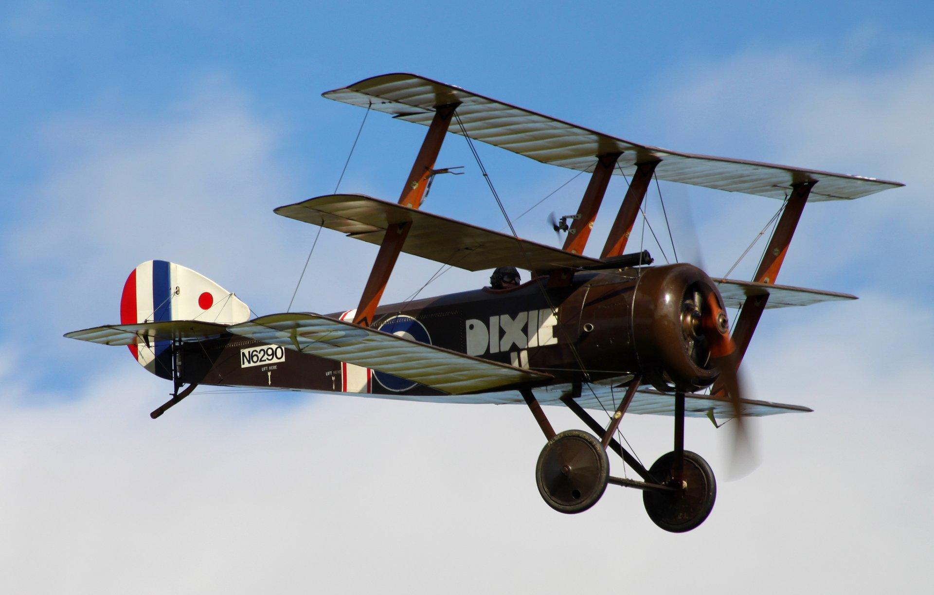 Обои сил, триплан, Fokker dr.1, военно-воздушных, истребитель. Авиация foto 11